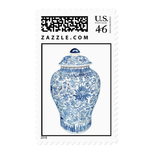 Ginger Jar Stamp by Anne Harwell stamp