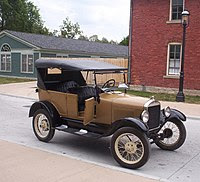 Ford Model T used for giving tourist rides at ...
