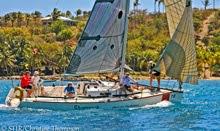 J/95 Shamrock VII sailing St Thomas Regatta
