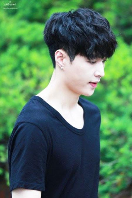 21+ Inspiration Korean Model Boy Hairstyle