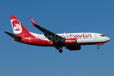 Airberlin (airberlin.com) Boeing 737-76J WL D-ABLF (msn 36874) ZRH (Paul Bannwarth). Image: 913283.