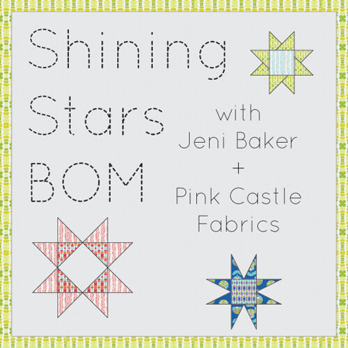 Shining Stars Block of the Month by Jeni Baker