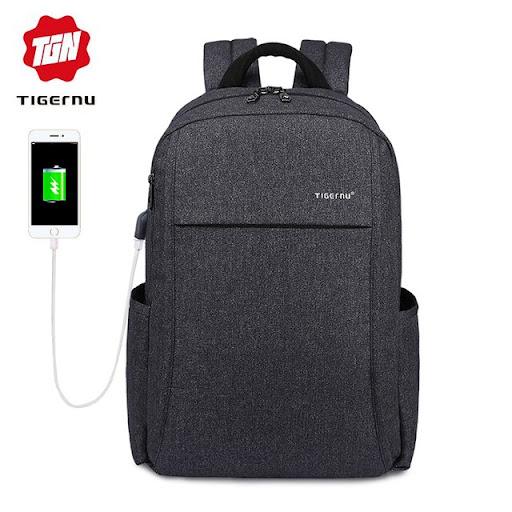 b0fb24df912a Special Price Tigernu Anti thief USB charging 15.6