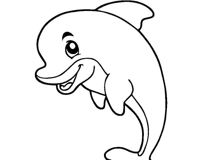 gambar ikan untuk mewarnai anak