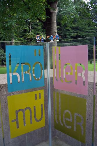 Ingresso del Kröller Müller Museum