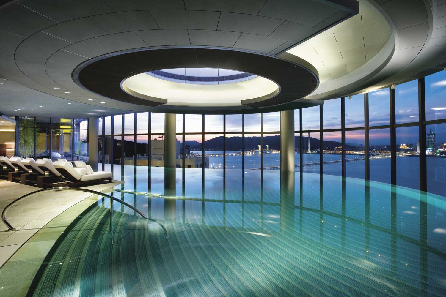 Swimming Pool at Crown Macau voted One of the World's Best