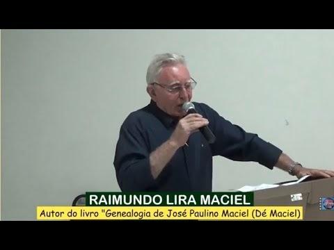 GROAÍRAS: Raimundo Lira Maciel faz pronunciamento no lançamento de livro sobre a vida de 'Dé Maciel'; veja VÍDEO