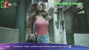 Juliana Paes sensual na novela Força do querer