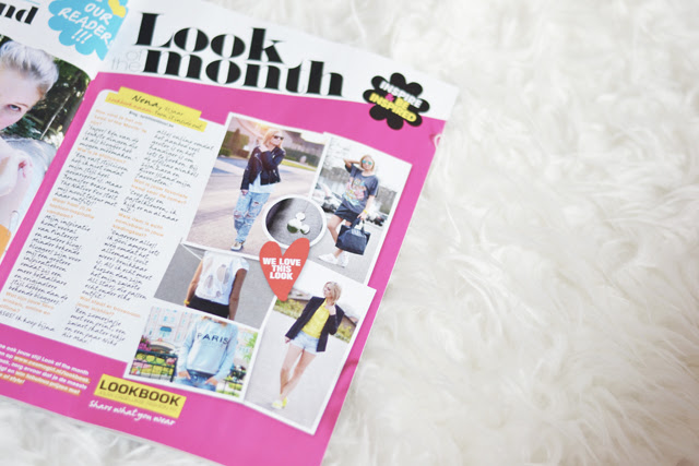 cosmogirl dutch magazine feature belgium fashion blogger turn it inside out look of the month 2014 june tijdschrift