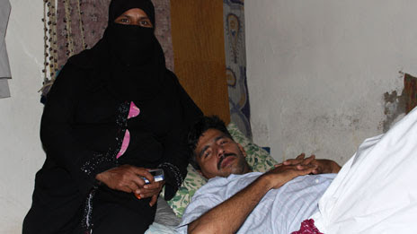 Ahmed and his wife, Surema