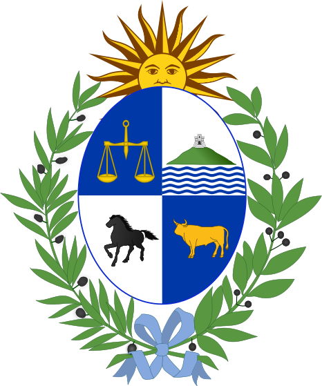 Archivo:Coat of arms of Uruguay.svg