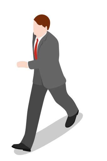 eksekutif berjalan   laki laki ikon gratis