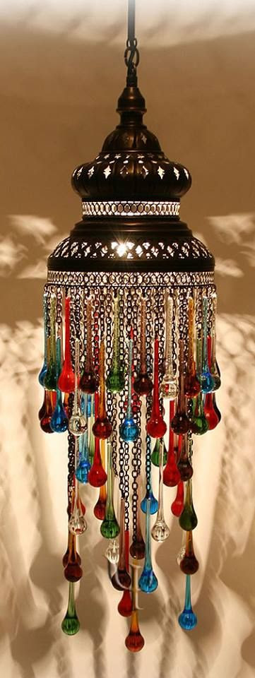 bohemian warmth with jewel colors! I love this, but not quite sure where to place it in the house.
