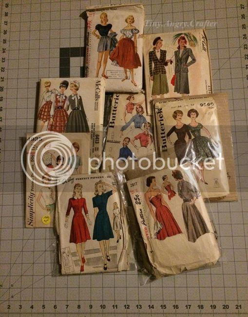 TinyAngryCrafts- vintage sewing patterns for 2015