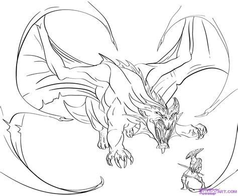 draw  dragon slayer step  step dragons draw