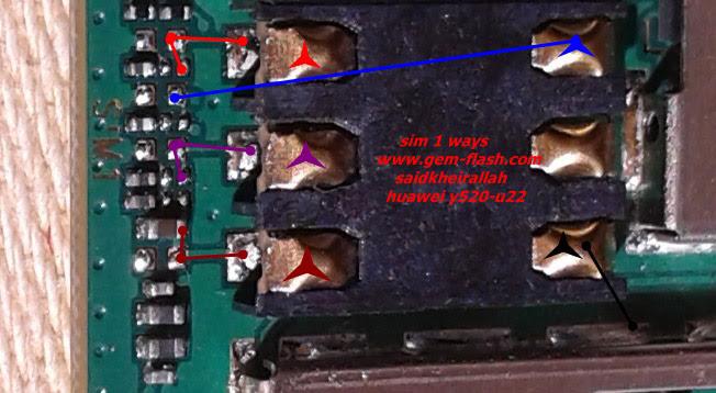 Huawei Ascend Y520 Insert Sim Card Problem Solution Jumper Ways
