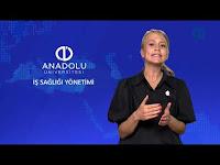 İŞ SAĞLIĞI YÖNETİMİ - Ünite 8 Konu Anlatımı 1 - Açıköğretim Sistemi - Anadolu Üniversitesi