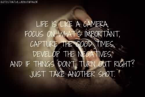 Nice Celebrity Love Quote Just Take Another Shot Quotespicturescom