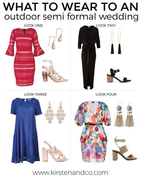 What to wear to an outdoor semi formal wedding   Kirsten