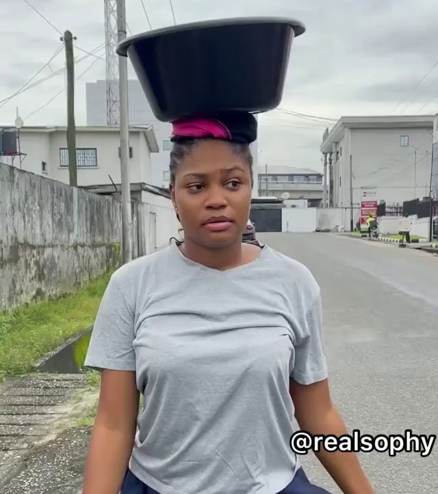 Comedy Video: Sophy The Pure-Water Seller Refused N20Million Deal… Settled With Hawking!