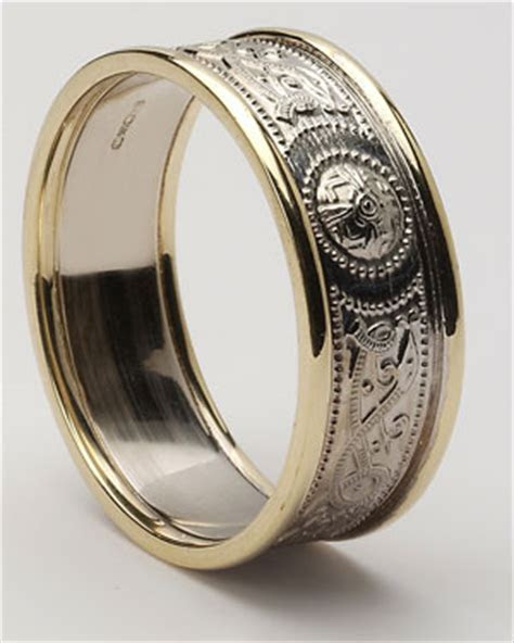 Celtic Wedding Rings   Celtic Rings   Warrior Shield Ring