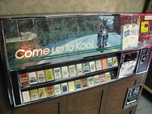 Kool smoke machine