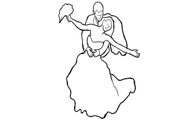Позирование: позы для свадебной фотографии 12