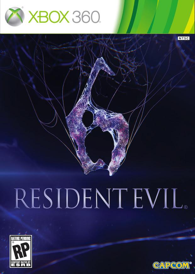 Capcom revela a boxart de Resident Evil 6 (Foto: Divulgação)