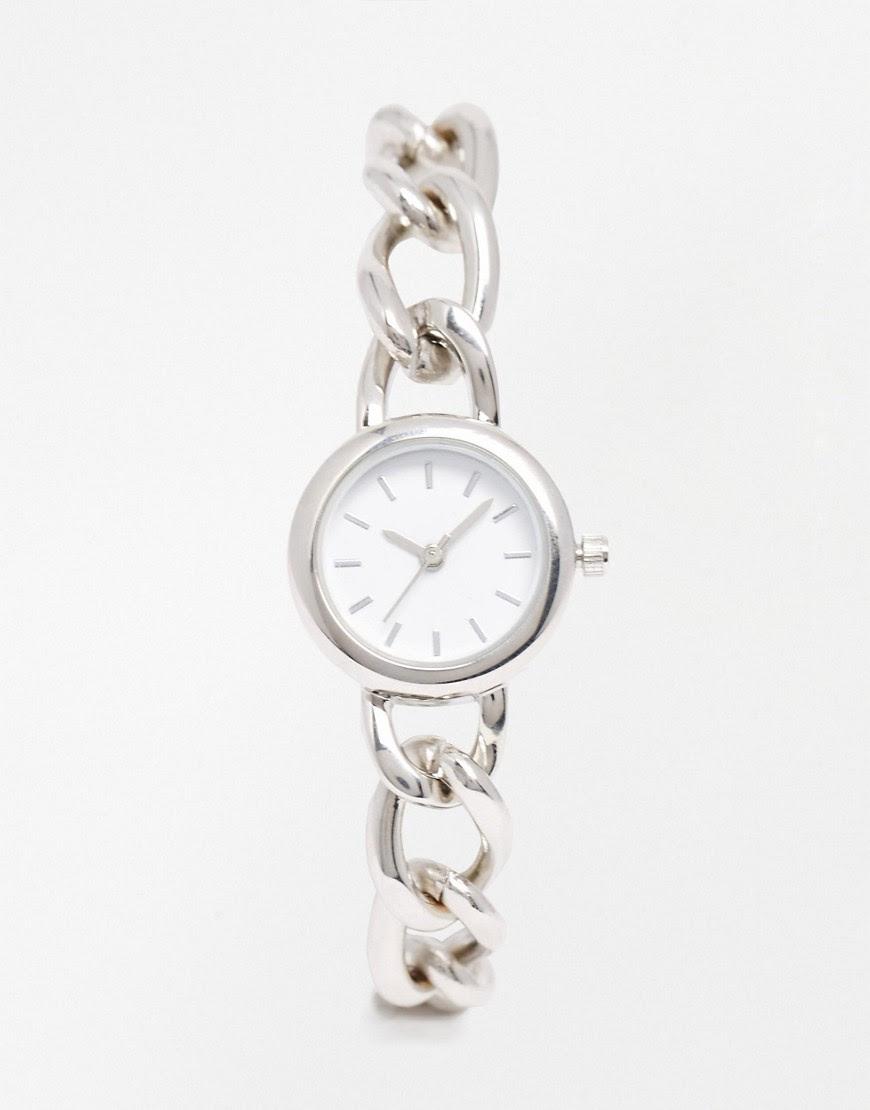 Image 1 ofASOS Chain Link Bracelet Watch
