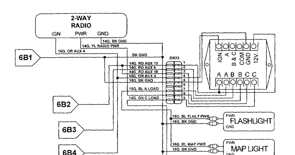 Whelen Radio Wiring