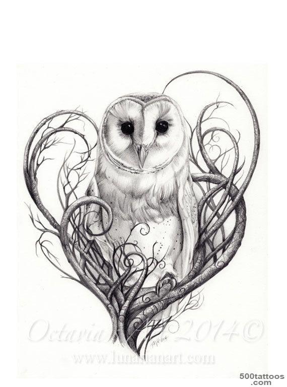 Owl Tattoo Photo Num 440
