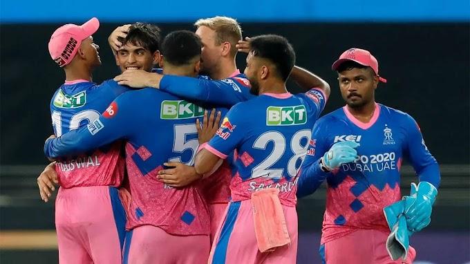 IPL: Tyagi scripts incredible two-run win for Royals against Punjab