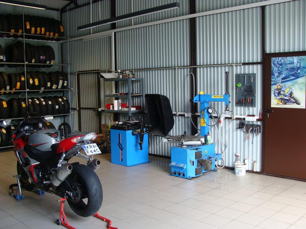 Wymiana Opon Motocyklowych