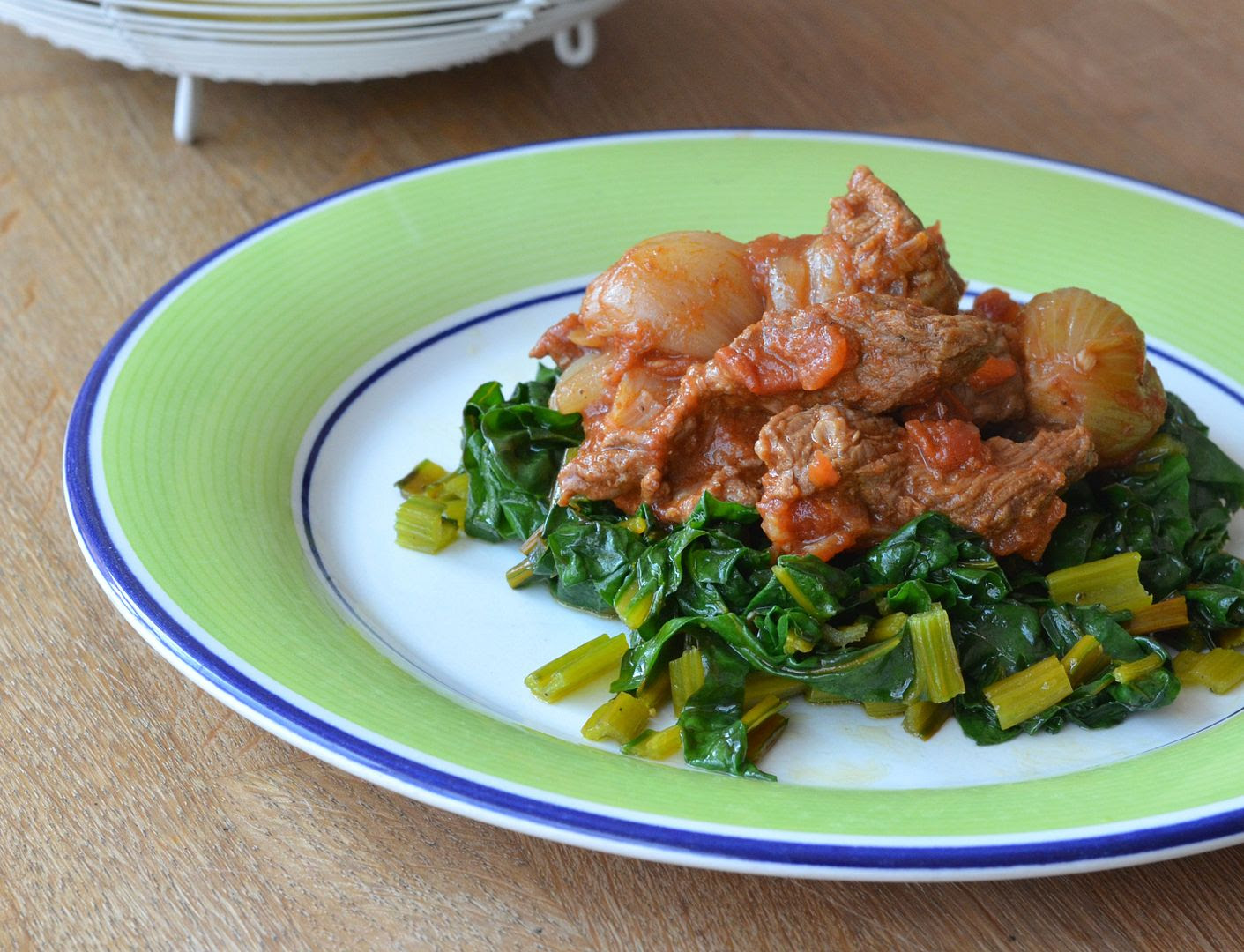 Middle Eastern Beef & Shallots  - Paleo