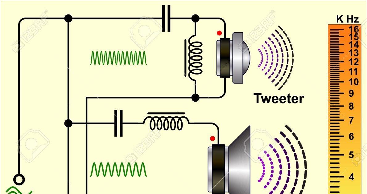 Speaker Crossover Circuit Diagram