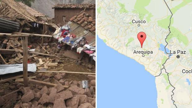 Sismo en el Colca: alcaldes reportan al menos 7 muertos