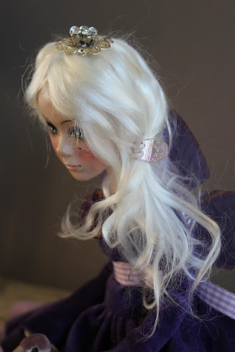 Shelley's custom art doll