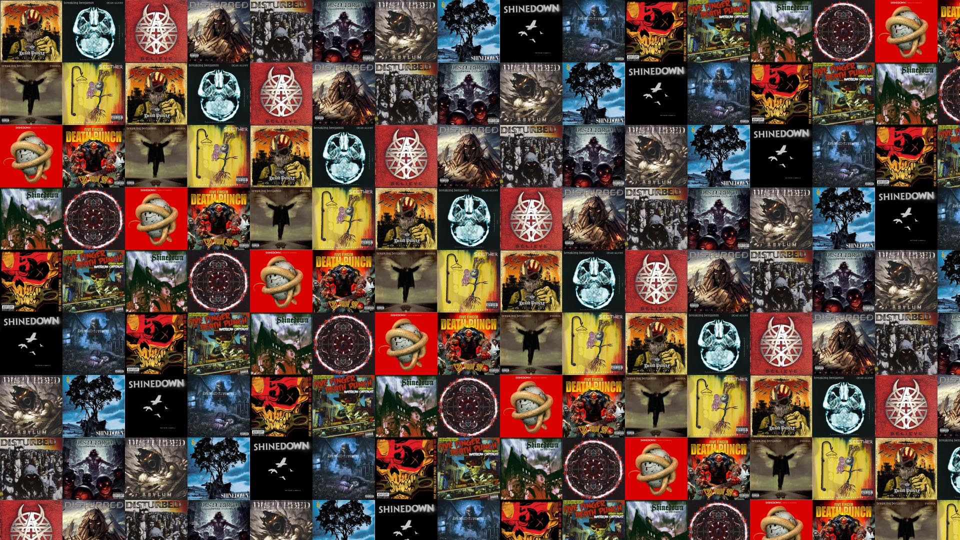Five Finger Death Punch War Answer Breaking Benjamin Wallpaper