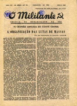 O Militante, Série 3, n.º 84 (DEZ.1955)