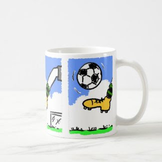 Keepy Uppy Football Mug