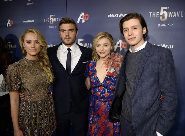Screening of AwesomenessTV's 'The 5th Wave' - Red Carpet