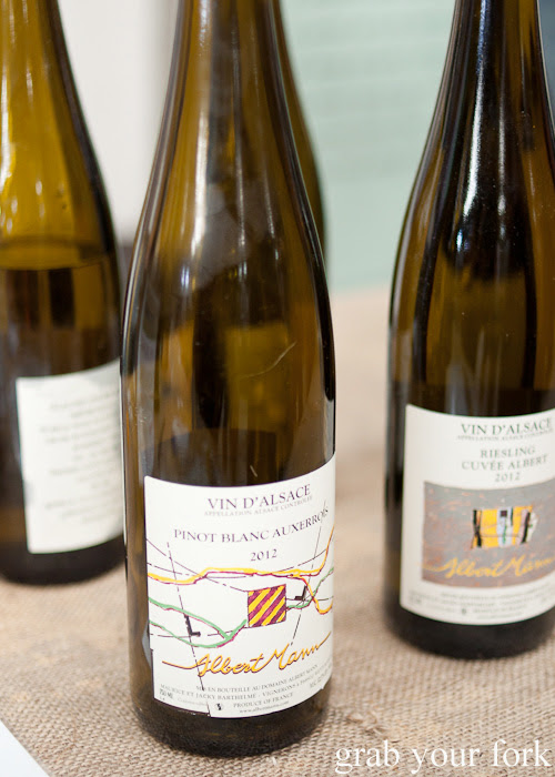 Albert Mann pinot blanc and riesling at the Rootstock Sydney 2014 Wine Festival