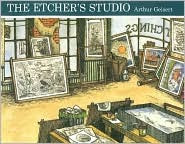 Etcher's Studio by Arthur Geisert: Book Cover