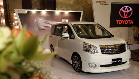 Toyota Mulai Produksi Kendaraan NAV1