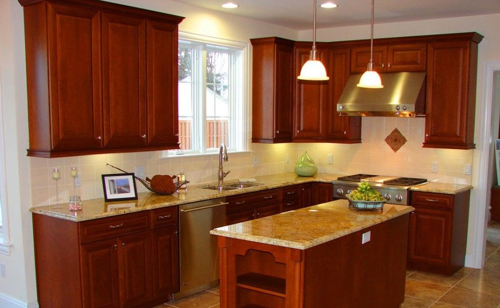 An Oddly Shaped Kitchen Island: Small L Shaped Kitchen With Island