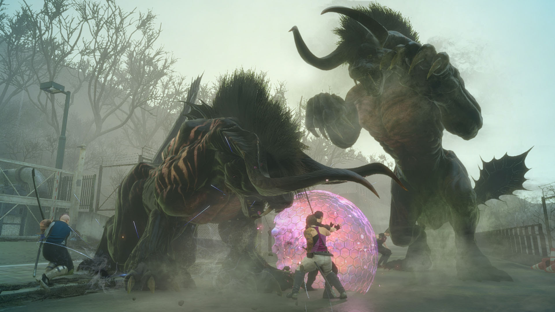 Final Fantasy XV's co-op expansion gets a delay screenshot