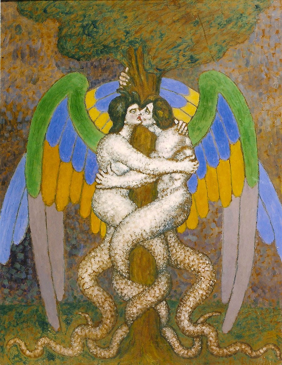 Boleslaw Biegas - Family Tree of Adam and Eve, 1918 - 1920