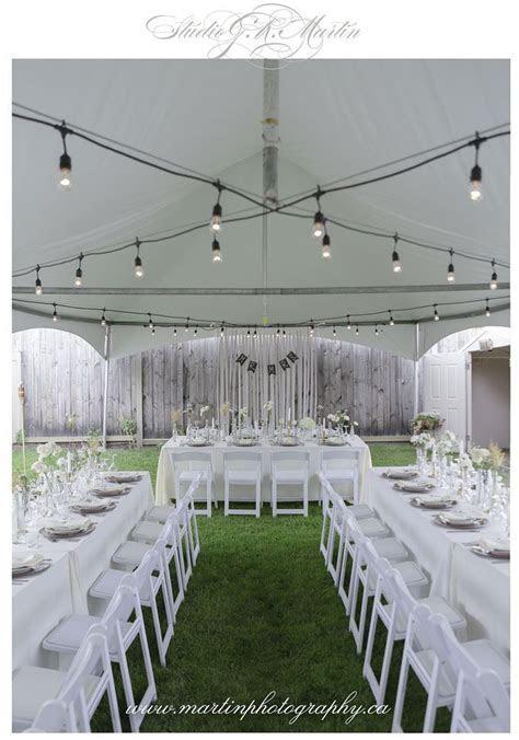 Intimate Backyard Wedding in Ottawa   Intimate wedding
