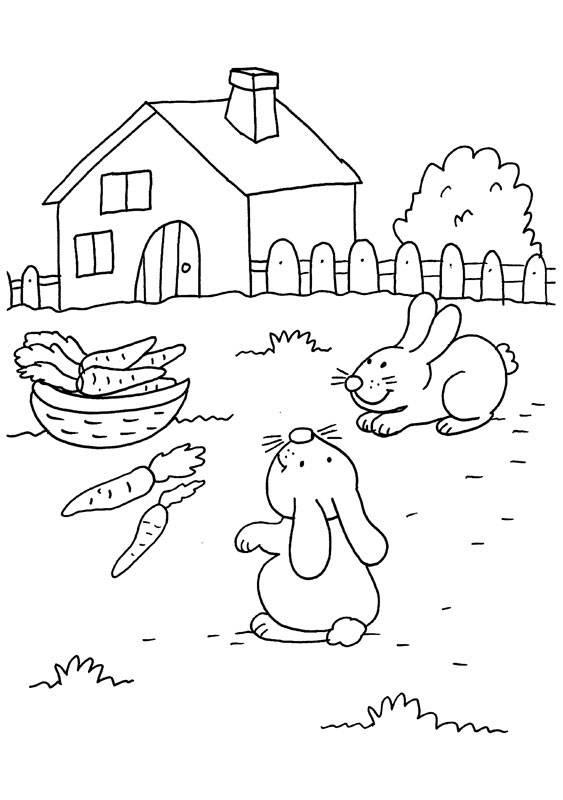 kaninchen bilder kostenlos ausdrucken
