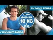 Como CRESCER RÁPIDO e Ganhar 10 Kg a 15Kg em POUCO TEMPO com Suplementos Ganhe Peso e Músculos
